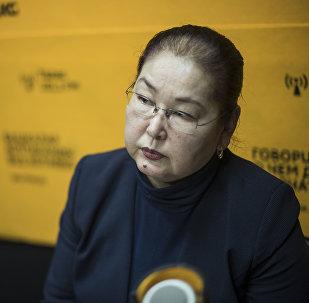 Бишкектин вице-мэри Айгүл Рыскулова. Архив