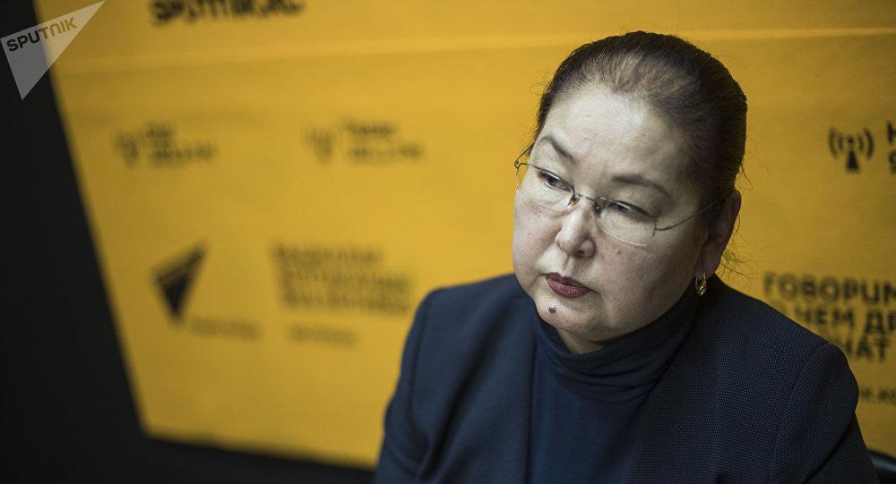Бишкек шаарынын вице-мэри Айгүл Рыскулова маек учурунда