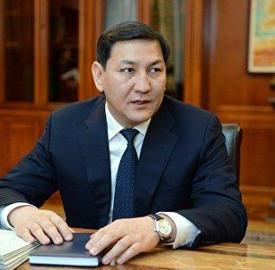 Улуттук коопсуздук боюнча мамлекеттик кызматтын жетекчиси Абдил Сегизбаевдин архивдик сүрөтү