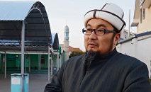 Белгилүү дин аалымы, Кыргызстандын мурунку муфтийи Чубак ажы Жалилов. Архивдик сүрөт