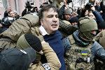 Грузиянын экс-президенти жана Украинанын Одесса облусунун мурунку губернатору Михаил Саакашвили. Архивдик сүрөт