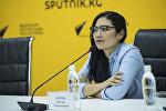 Глава общественного фонда Помогать легко, учредитель первого детского хосписа в Кыргызстане Динара Аляева. Архивное фото