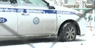 """Зимой в Бишкеке некоторые патрульные машины ездят на летней """"резине"""" — видео"""