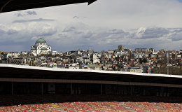 Вид на город Белград. Сербия