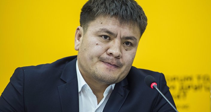 Кыргызстанский боец MMA Мыктыбек Мамасалиев