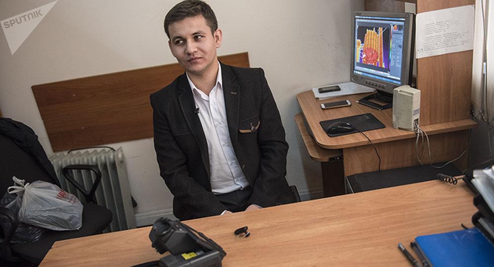 Инженер в национальном электрическом сети Кыргызстана Тимур Осмонбаев