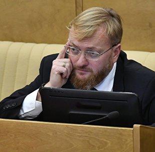 Архивное фото депутата Госдумы РФ Виталия Милонова