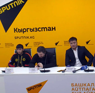 Турнир ММА JFC Fight Night 2017 обсудили в МПЦ Sputnik Кыргызстан
