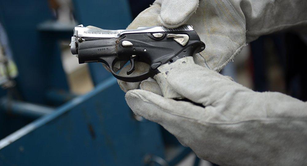 Операция по уничтожению оружия в Каракасе