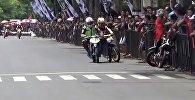 Индонезияда бири-биринен өч алган мотоциклисттердин видеосу талкуу жаратты