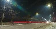 Бишкекте жаңы чырактар орнотулганын шаар мэриясынын маалымат кызматынан билдиришти