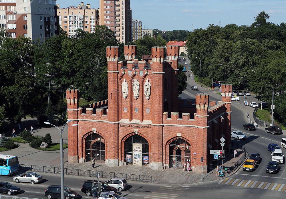 Королевские ворота — одни из семи сохранившихся ворот города. В 2005 году стали символом празднования 750-летия Калининграда.