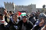 Иерусалим нааразычылык акциясы. Архивдик сүрөт