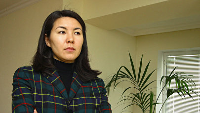 Дочь бывшего президента Кыргызстана Аскара Акаева Бермет Акаева. Архивное фото
