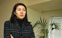 Бермет Акаева, дочь бывшего президента Кыргызстана Аскара Акаева. Архивное фото