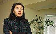 Бермет Акаева, дочь бывшего президента Кыргызстана Аскара Акаева. 02 февраля 2005 года,