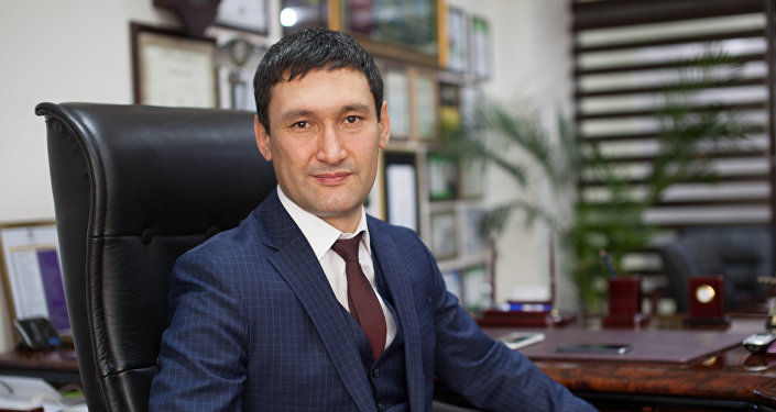 Кыргызстандык ишкер Тимур Файзиев. Архив