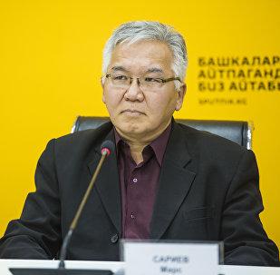 Политолог, эксперт по региональной безопасности Марс Сариев