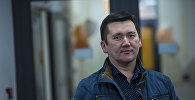 Психолог Ильдар Акбутин в офисе Sputnik Кыргызстан