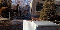 Пожар в пансионате Витязь в Иссык-Куле