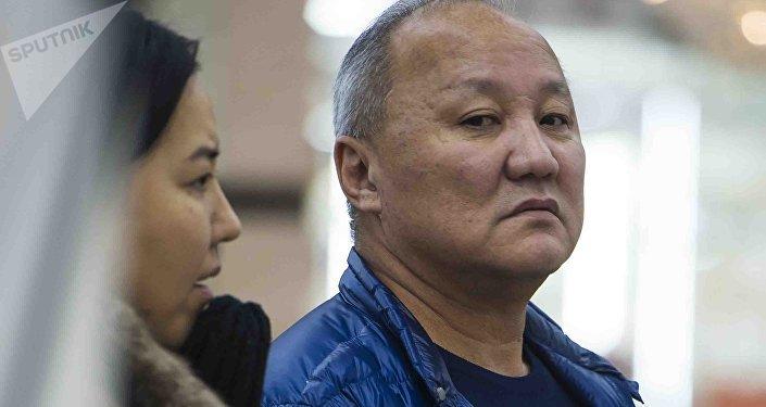 Мурдагы депутат, Бишкек шаарынын экс-мэри Нариман Түлеевдин архивдик сүрөтү