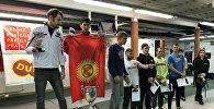 На IX международном турнире по фехтованию Дукла среди мужчин чемпионом стал кыргызстанец, мастер спорта по фехтованию Кыргызской Республики Джумабай уулу Даанышман