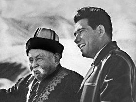 Кыргызский писатель, герой Кыргызской Республики Чингиз Айтматов