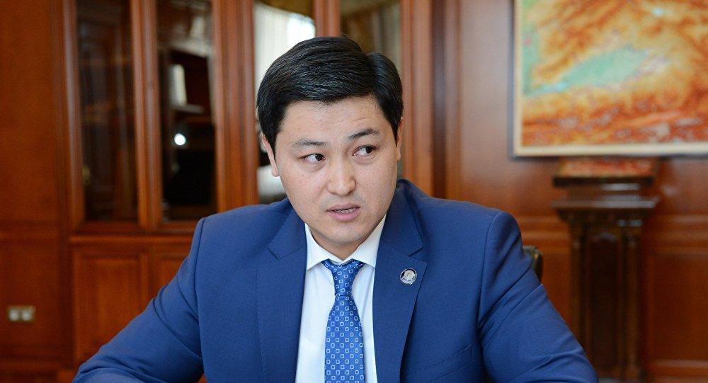 Председатель Счетной палаты Кыргызстана Улукбек Марипов. Архивное фото