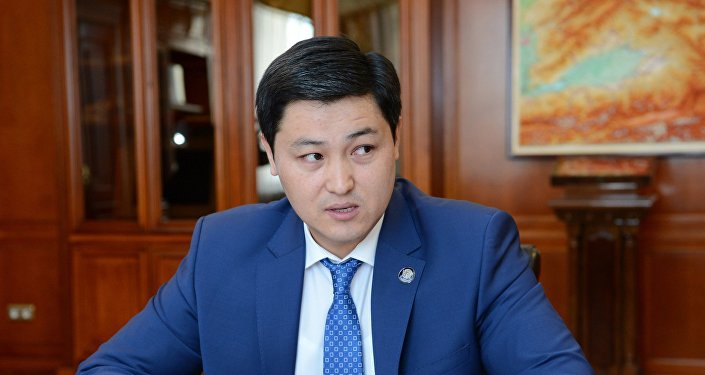 Председатель Счетной палаты Кыргызстана Улукбек Марипов у президента