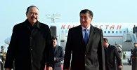 Президент Сооронбай Жээнбеков жана Өзбекстандын премьер-министри Абдулла Арипов