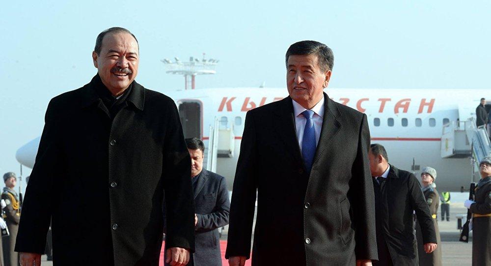 Узбекистан иКыргызстан подписали документы вторговой сфере на $140 млн.