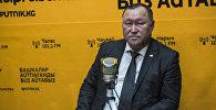 Председатель правления ОАО Государственная ипотечная компания Бактыбек Шамкеев. Архив