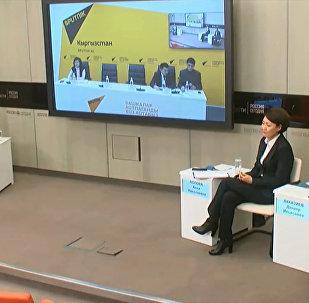 Подготовку к кыргызско-российскому форуму обсудили в МПЦ Sputnik Кыргызстан
