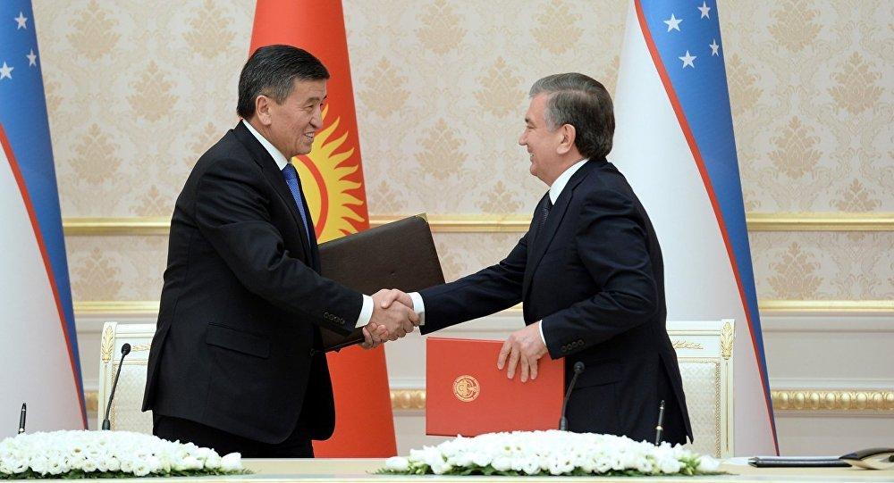 Мирзиёев иЖээнбеков обсудят вопросы развития двусторонних отношений