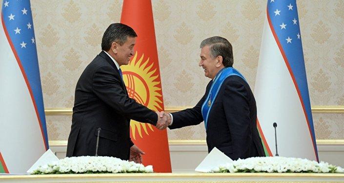 Официальный визит президента КР Сооронбая Жээнбекова в Узбекистан