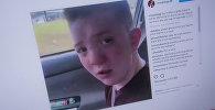 Американский подросток Китон Джонс, жаловавшийся матери на травлю в школе. Фото со страницы Instagram пользователя snoopdogg