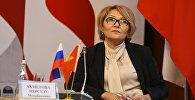 Заведующая отделом финансово-экономического анализа и мониторинга развития аппарата президента КР Нурсулу Ахметова