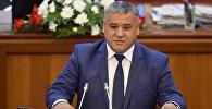 Кыргызстан фракциясынын депутаты Кубанычбек Нурматовдун архивдик сүрөтү