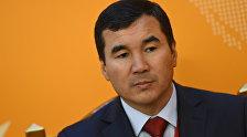 Архивное фото депутата ЖК Узарбека Жылкыбаева