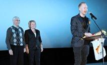 Руководитель информационного агентства и радио Sputnik Кыргызстан Елена Череменина на торжественном закрытии VII Международного кинофестиваля стран СНГ, Балтии и Грузии «Кыргызстан –страна короткометражных фильмов» названы имена победителей.
