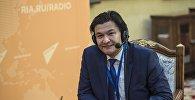 Советник премьер-министра Кыргызстана Кубат Рахимов. Архивное фото