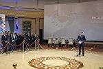 Премьер-министр Кыргызской Республики Сапар Исаков в ходе торжественного мероприятия, дал официальный старт началу подготовки к организации и проведению Третьих Всемирных игр кочевников. 15 декабря 2017 года