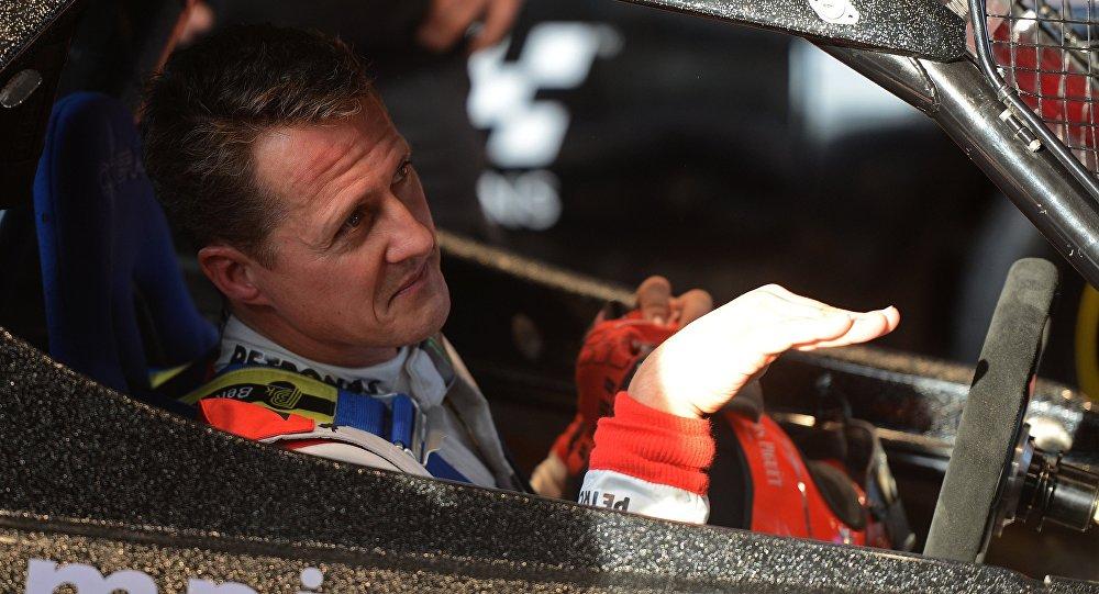 Формула-1 жарышынын жети жолку чемпиону Михаэль Шумахер. Архивдик сүрөт