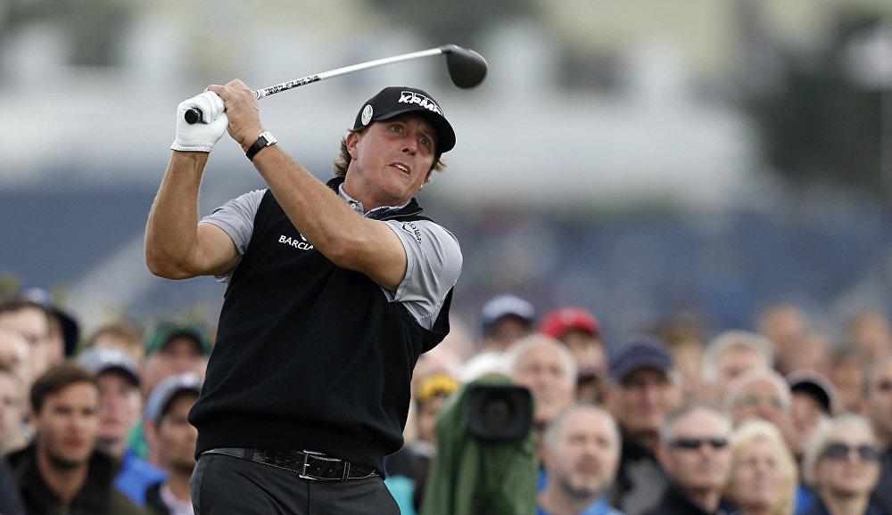 Американский гольфист Фил Микельсон