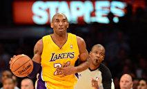 Баскетболист, пятикратный чемпион NBA Коби Брайант. Архивное фото