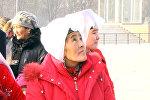 Здесь как в раю — видео первой прогулки памирских кыргызов по Бишкеку