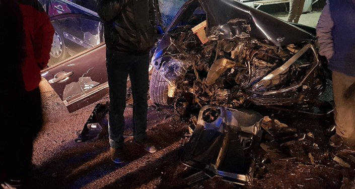 Встрашном ДТП натрассе «Бишкек-Ош» погибли семь человек