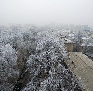 Вид на Бишкек. Архивное фото
