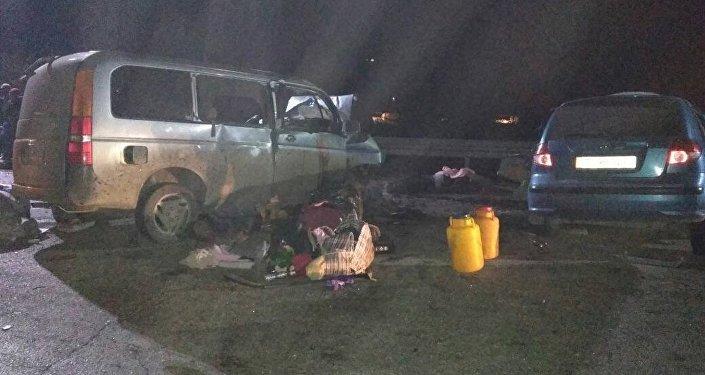 Жалал-Абад облусуна караштуу Токтогул районунда болгон жол кырсыгы жети адамдын өмүрүн алды