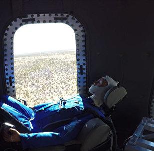 Полет нормальный — видео испытаний космического корабля для туристов
